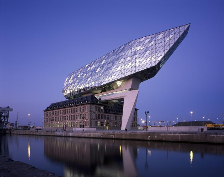 比利时安特卫普港口大楼-11