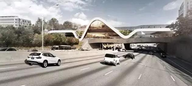 亚特兰大高逼格的桥梁设计方案,美!
