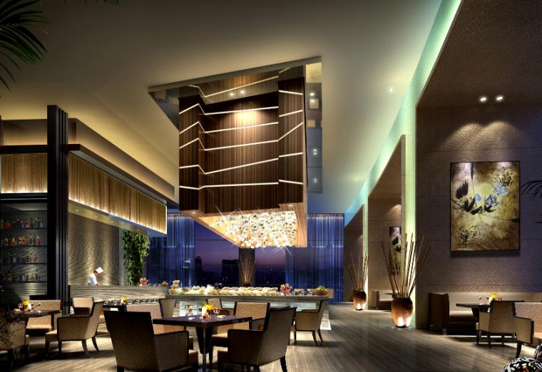 【海南】CCD-三亚国际酒店设计施工图(附效果图)_6