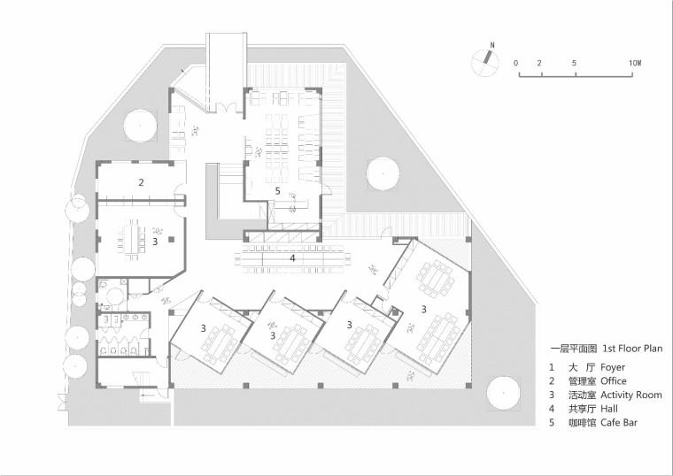 复旦浴室改造亚洲青年交流活动中心-21