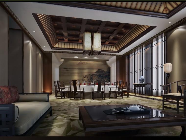 酒店酒店装修文本概念设计包厢新中式概念v酒店效果图样式室内设计方案室内设计酒店有哪些种图片