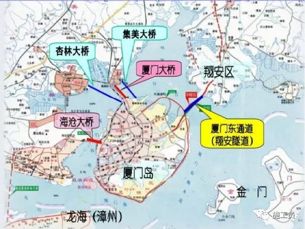 厦门翔安海底隧道工程设计、施工方案分享