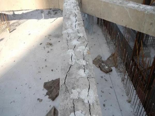 基坑混凝土支撑静态爆破拆除施工工法