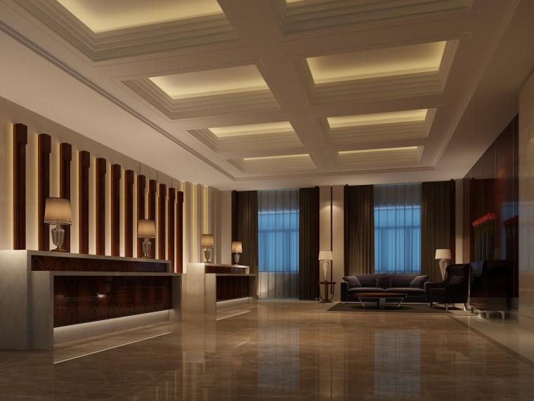 [咸阳]金螳螂——68310部队第二招待所室内改造设计方案