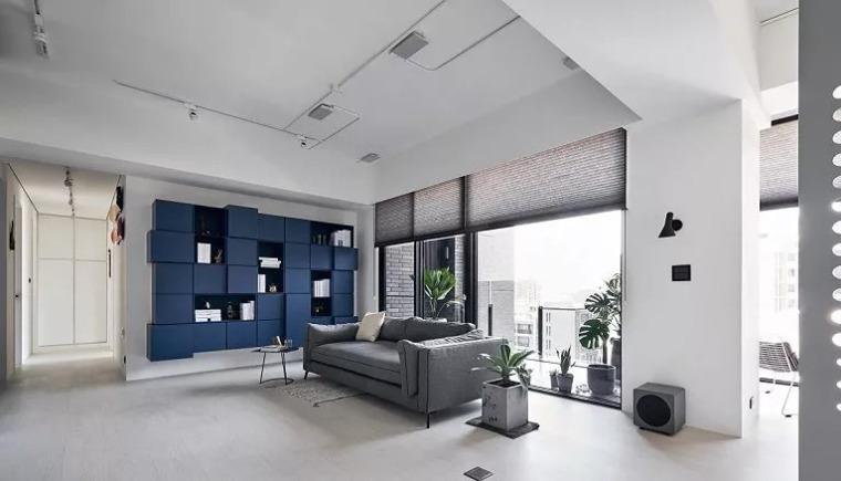140㎡现代简约风,舒服自在的家就该这样!_8