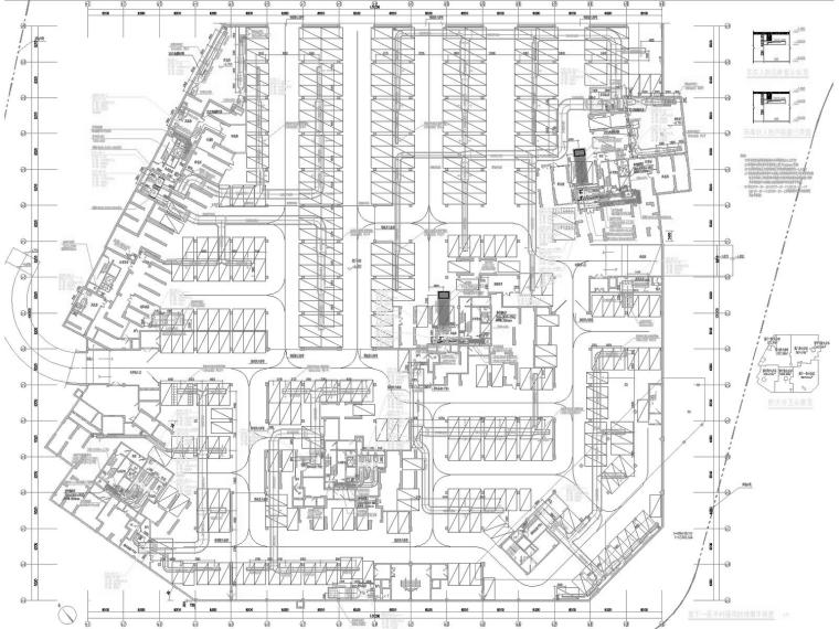 [福建]高层安置住宅小区通风及防排烟系统设计施工图(人防设计)