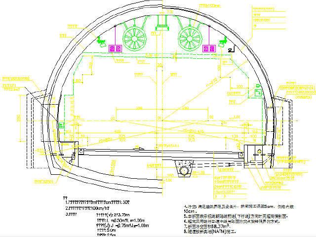 [浙江]双向四车道高速公路工程标准图124张CAD(路桥隧)