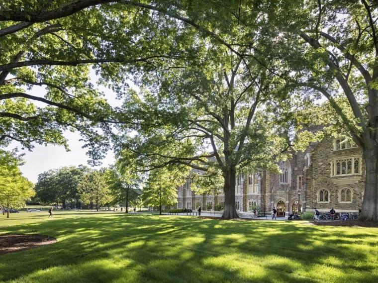 韦德娱乐1946_杜克大学西校区景观