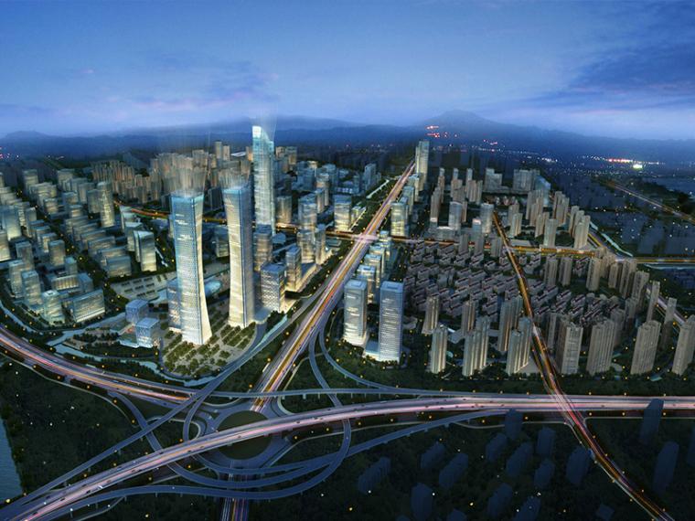 [浙江]杭州高新区物联网小镇规划建筑方案文本