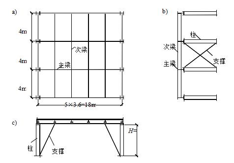 课程设计钢结构平台设计(word,8页)