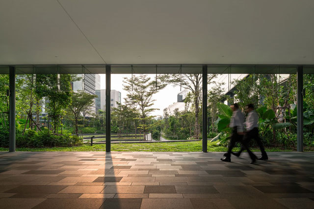 11-新加坡Comtech商业园区景观设计第11张图片