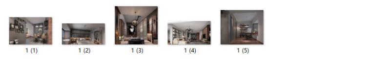 高端小户型单身公寓设计CAD施工图(含效果图)缩略图