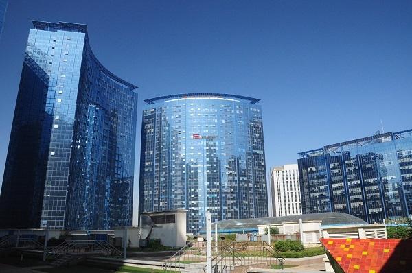 [广州]大厦办公场地装修工程预算书(含图纸)