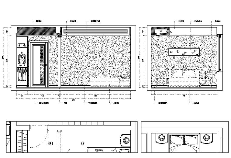 [福建]虎溪花园别墅设计施工图(附效果图)