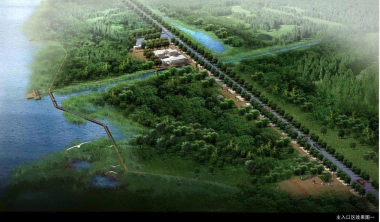 [土人]骆马湖滨湖带状湿地公园景观设计.