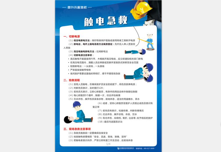 [安全月]意外伤害急救高清挂图