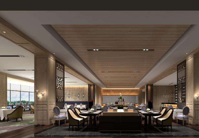 12600平方米酒店空间设计施工图(附效果图)_8