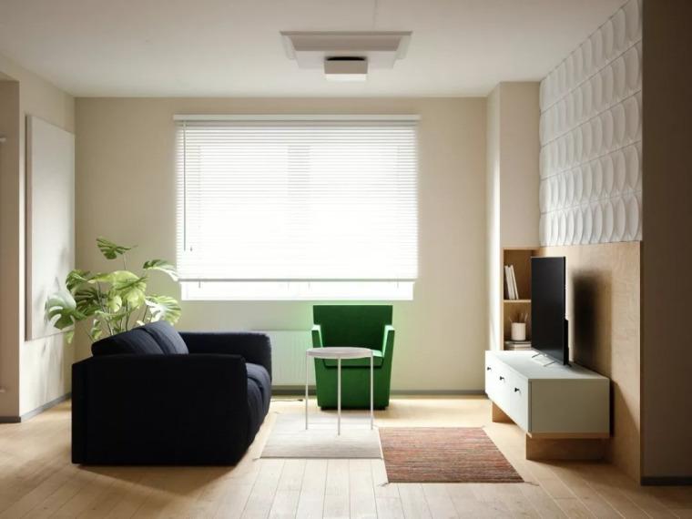 97㎡ 清新小宅,简单装修就很美!