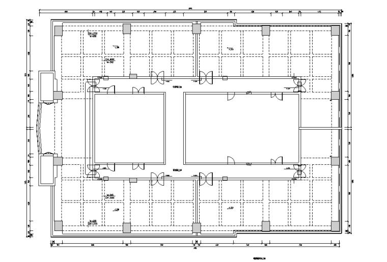 [福建]混搭风格恒基集团办公空间设计施工图(附效果图)