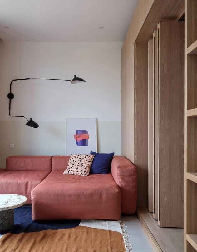 具有自己风格感的家居小户型,有了自己独立的思考时间