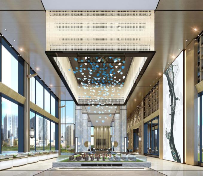 北大资源87亩售楼处样板间概念空间设计方案文本