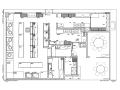 新中式风格经典客家餐厅菜馆空间装修设计施工图(附效果图)