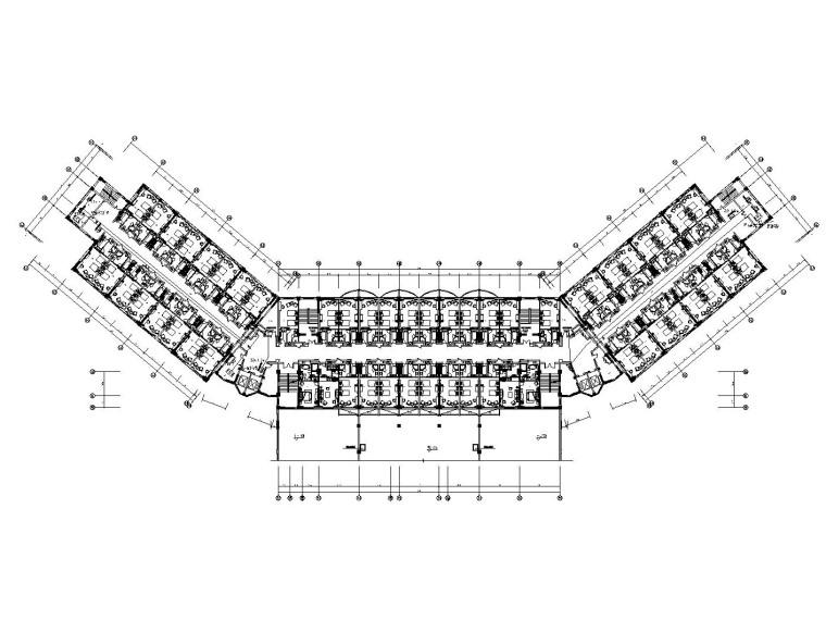 [新疆]金螳螂设计——沙湾大酒店内部装修施工图(附效果图+设计文案)_2