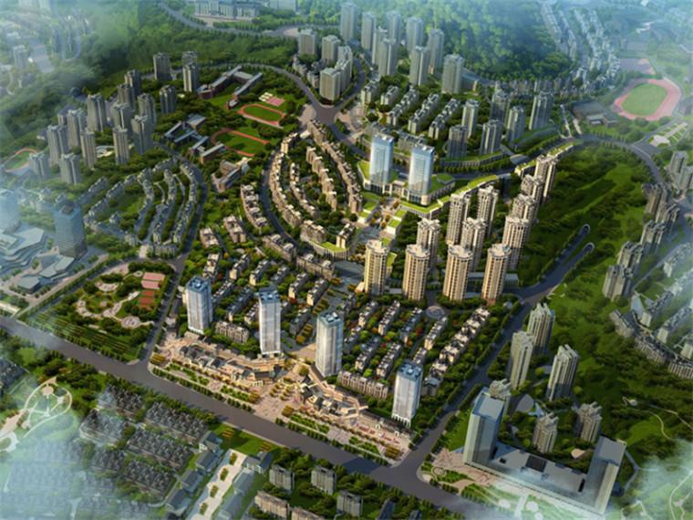 [重庆]新中式大型住宅区建筑设计方案文本