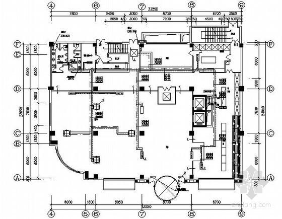 酒店中央空调设计施工图(风冷模块式机组)