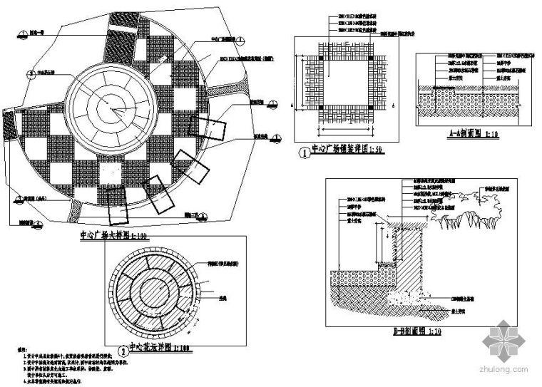 社区公园景观设计施工图