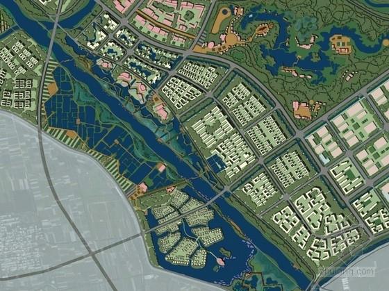 [河北]滨河湿地公园度假区概念规划(新加坡公司)