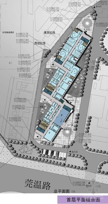 多层福利中心及育婴楼设计方案平面图