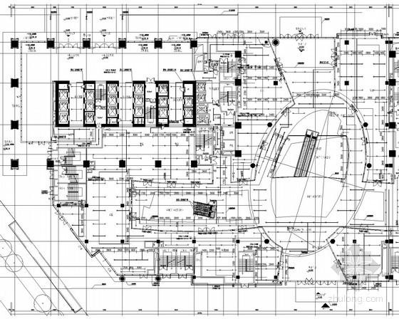 [四川]200米超高层综合体给排水消防施工图(细水雾灭火 泳池热水 高空水炮)