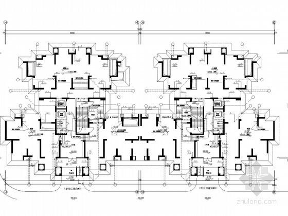 [四川]带商高层住宅给排水消防施工图