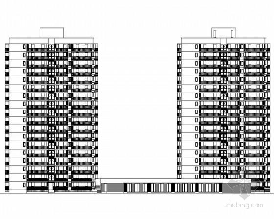 [北京]某18层住宅楼建筑施工图(知名设计院设计)
