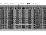[江苏]高层石材幕墙立面高密度塔式办公建筑施工图