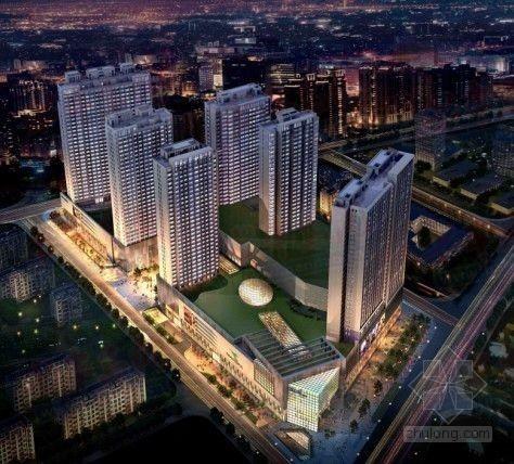 [重庆]高层综合住宅小区工程监理规划(框架结构)