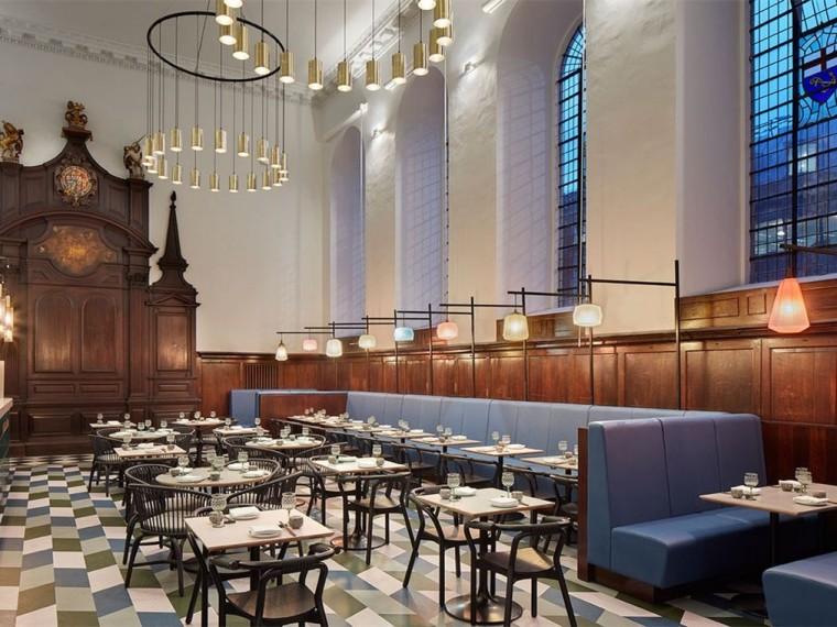 英国圣托马斯教堂内的粤菜馆