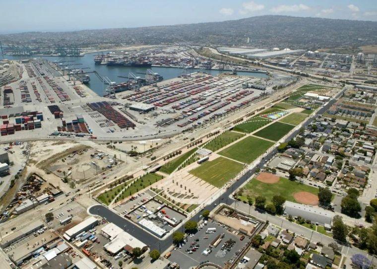 工业区旁的滨水社区景观设计丨恢复滨水社区的活力