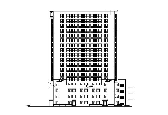 新谷创意大厦施工图归档(全套施工图)