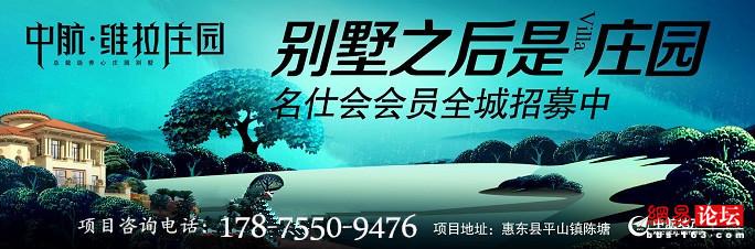 惠东中航维拉庄园开发商咨询电话多少?总价多少?