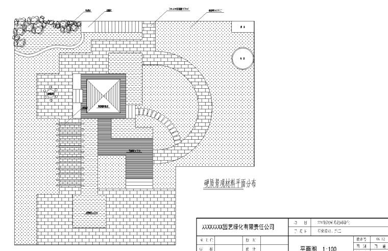 21套屋顶花园CAD施工图(12)