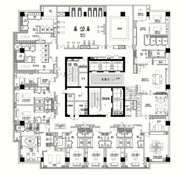 绿地济南高铁酒店室内设计方案(含效果图)_3