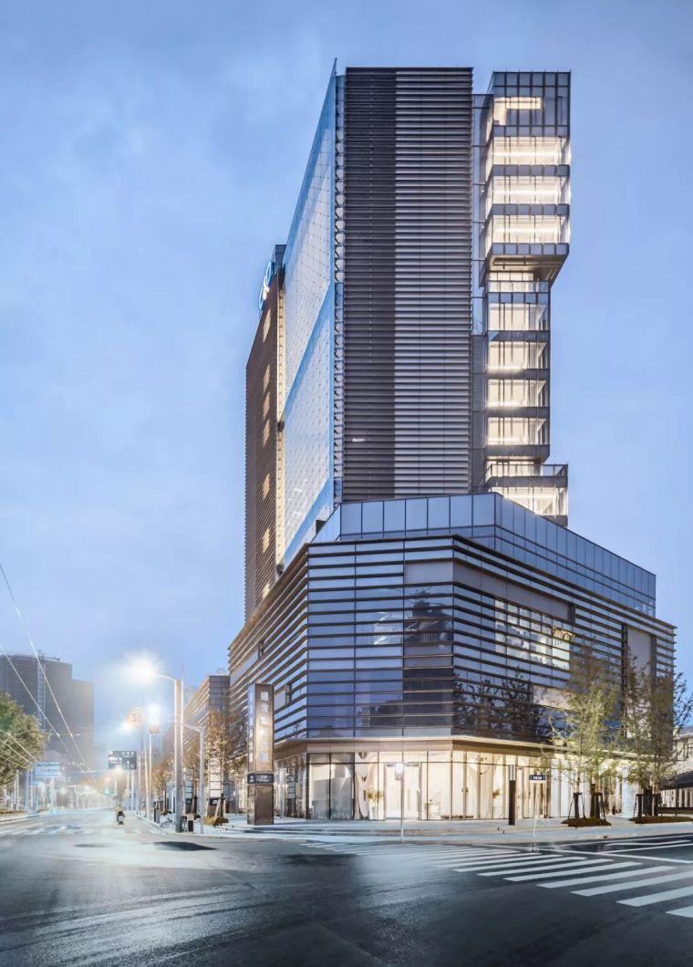 建筑师以集装箱为灵感,在魔都设计出一栋谦逊的办公楼……