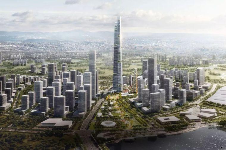 中国第一高楼再次被刷新。总高677米,中国第一,世界第二!_6