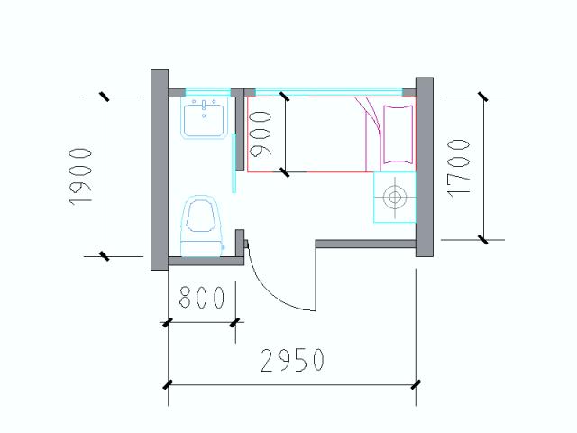 住宅户型的合理尺度(经济型、舒适型、享受型)_34