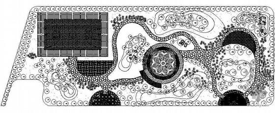 某游园园林设计施工图