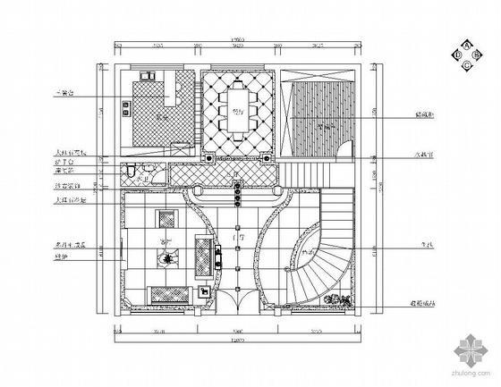 [杭州]某双层现代欧式别墅装修图