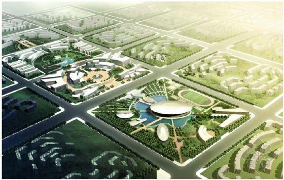 北京文化居住区景观规划方案(二)