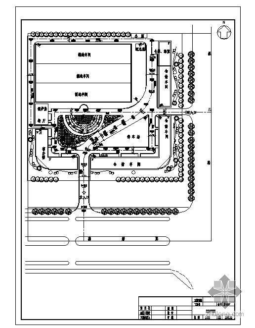 邯郸市某厂区给排水施工图
